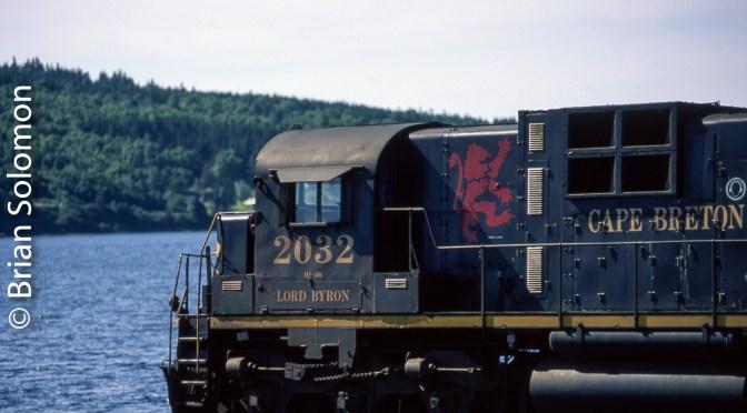 Lord Byron at Grand Narrows, Nova Scotia.