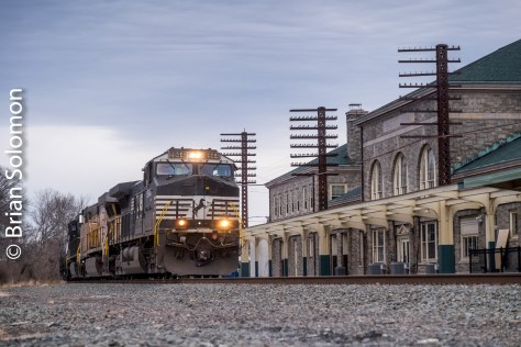 Norfolk Southern Tracking The Light