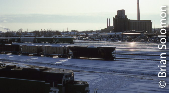 Burlington Northern, Minneapolis, Minnesota.