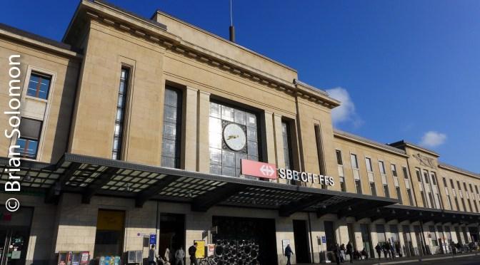 Geneva Station—one week ago.