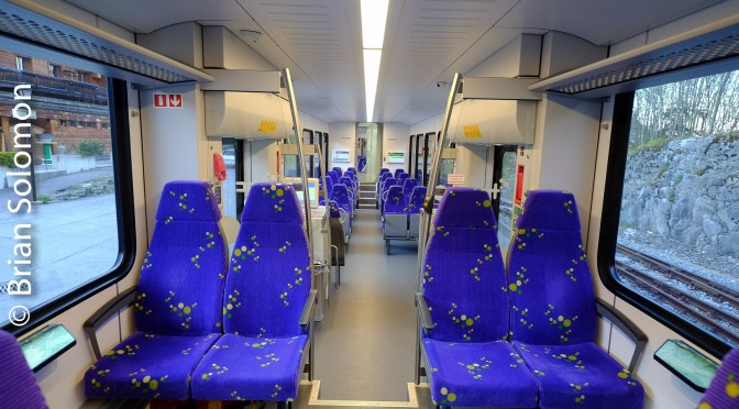 Inside and Out: Photographing a Nice New Little Train.