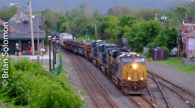 CSX Q422 at Palmer, Massachusetts