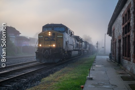 CSX Transportation   Tracking the Light