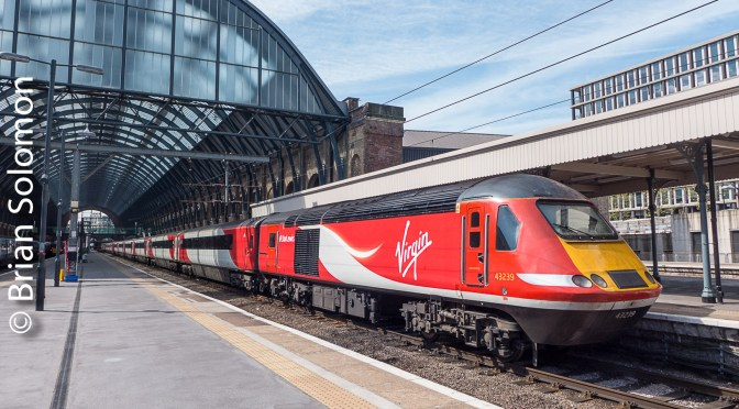 Virgin HST at London Kings Cross.
