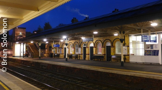 NI Railway's Lisburn Station at Dawn.