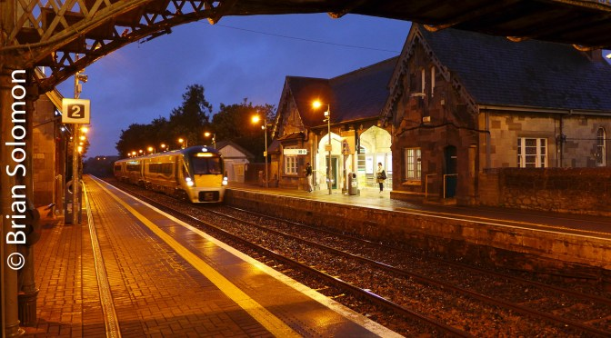 Great Southern & Western Station at Portlaoise.
