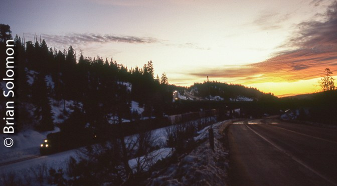 Sunset at Yuba Pass—Frame 37.