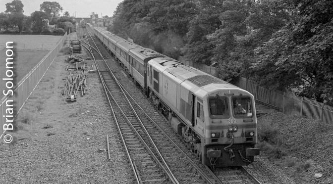 Irish Rail 202! Hooray!