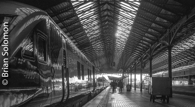 Irish Rail Heuston Monochrome—September 2017.