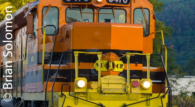 Portrait of New England Central 3476.