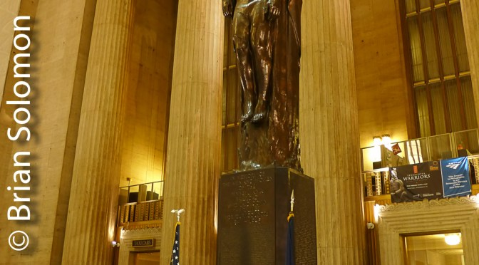 Pennsylvania Angel at 30th Street Station.
