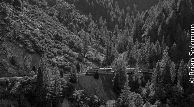 BNSF in the Feather River Canyon-1