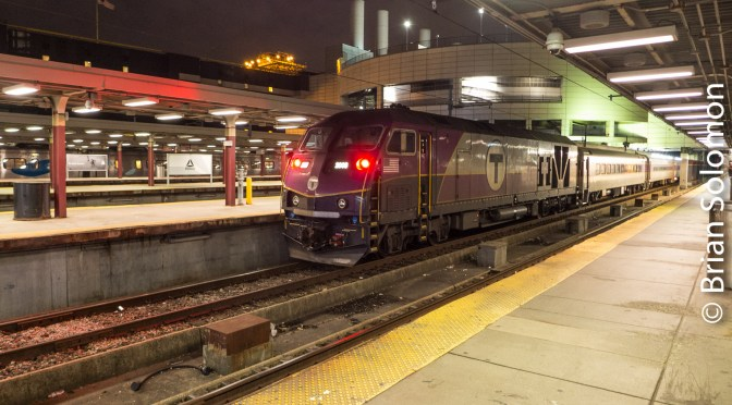 Puzzle Revealed: MBTA at South Station.