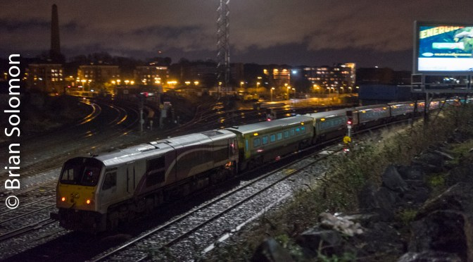 Islandbridge Junction: Dark and Darker.