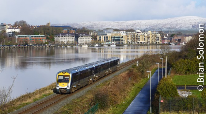 Derry, Snow and a Tricky Exposure.