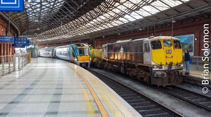 Irish Rail Sperry Train at Kent Station Cork.