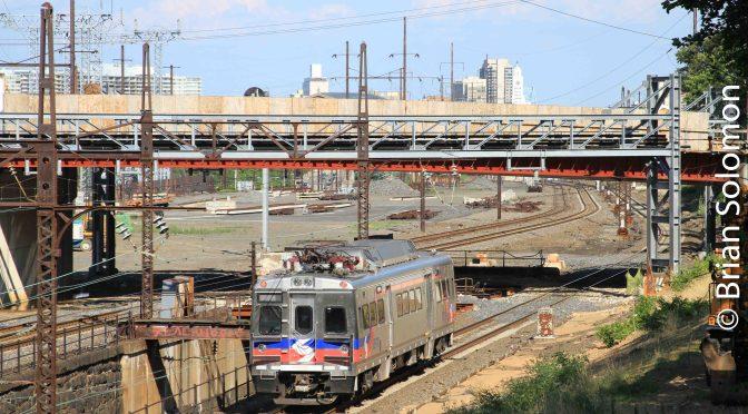Single SEPTA Silverliner V on July 2, 2012.