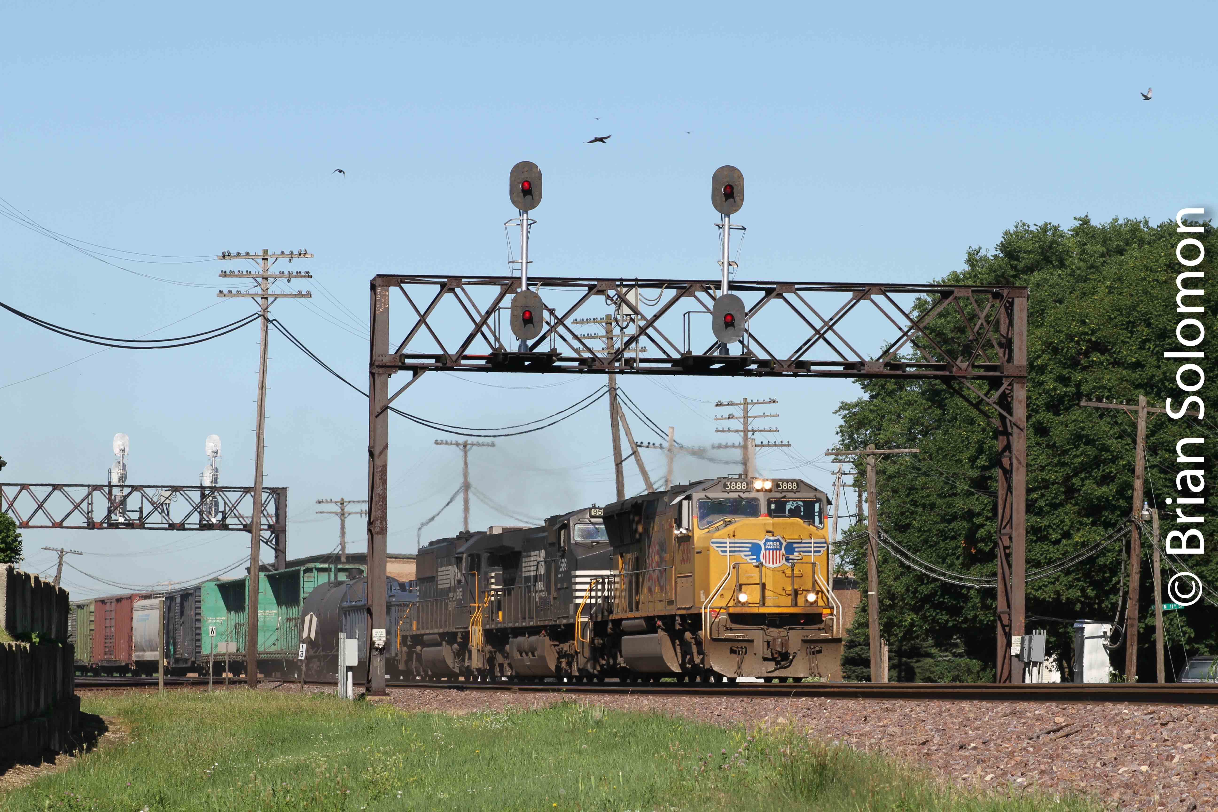 Union Pacific Tracking The Light