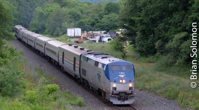 Dusk and Telephoto: or Summer 2018 with Amtrak's Lake Shore Limited Part 3.