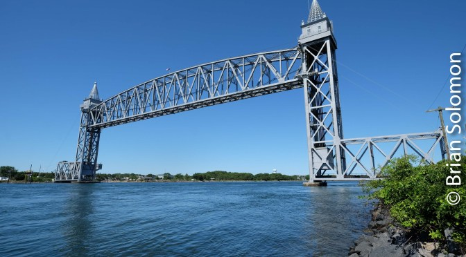 Buzzards Bay Bridge Two Views—Working with a Wide Angle.