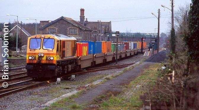 Irish Rail Workhorse Diesel; The Unremarked 221 in four photos.