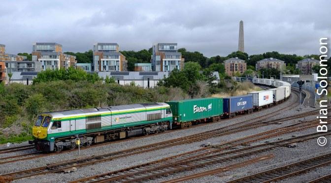 Irish Rail 223 Then and Now.