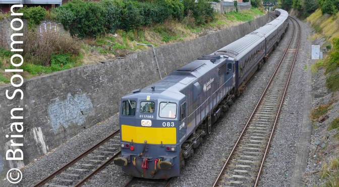 Mix and Unmatched at the Gullet—Variety on Irish Rail.
