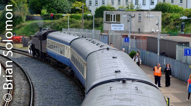 Steam at Drogheda—Sunday, 16 September 2018; Five Digital Photos.