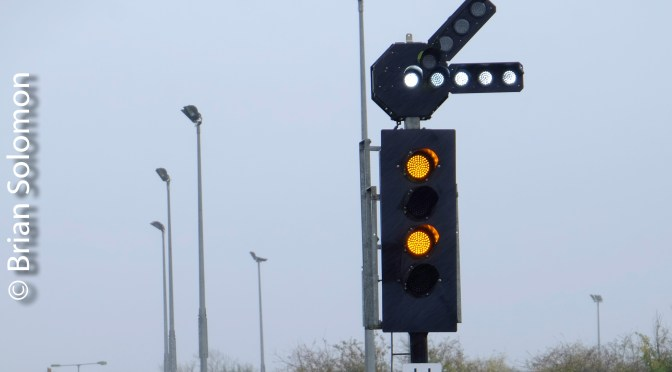 Limerick Junction: Photographing LED signals.