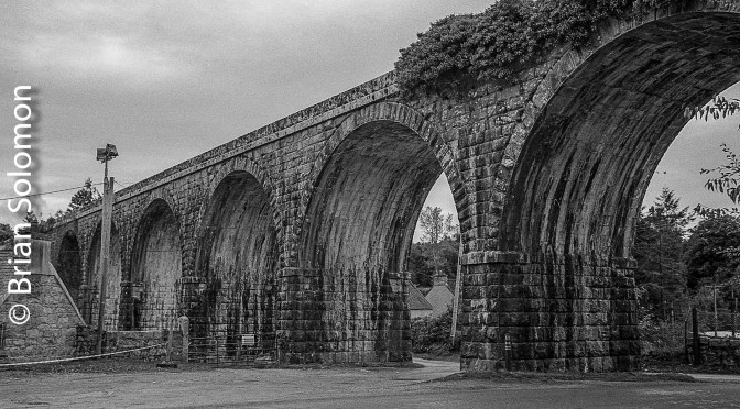 Borris Viaduct in Silver.