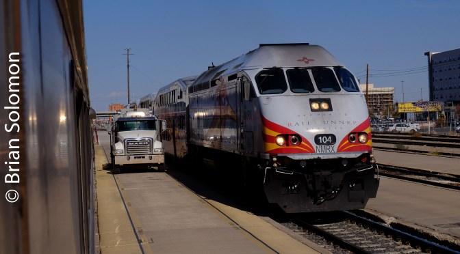 Rail Runner at Albuquerque—November 2018