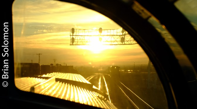 'Santa Fe All the Way!' Arizona Sunrise Rolling East on the BNSF Transcon.