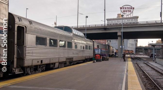 Kansas City: Amtrak, a Dome and a Streetcar!