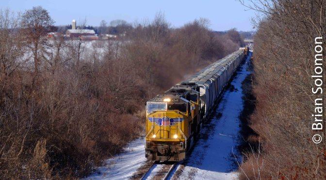 Union Pacific Adams Line on January 20, 2019.