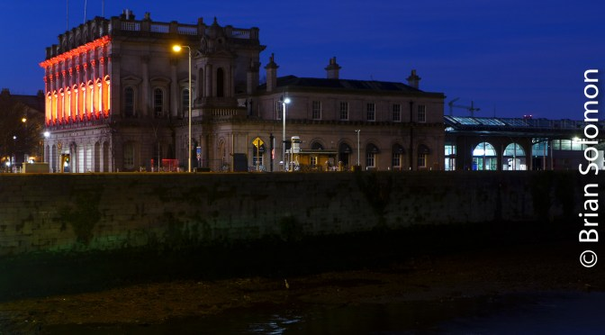 Heuston Station Dressed in Red.