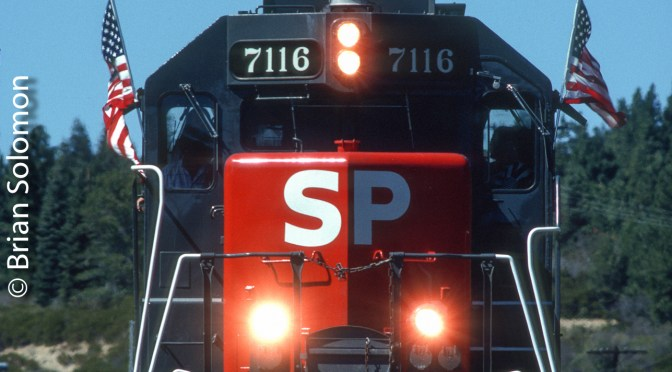 What's Hiding Behind this Southern Pacific GP40-2?