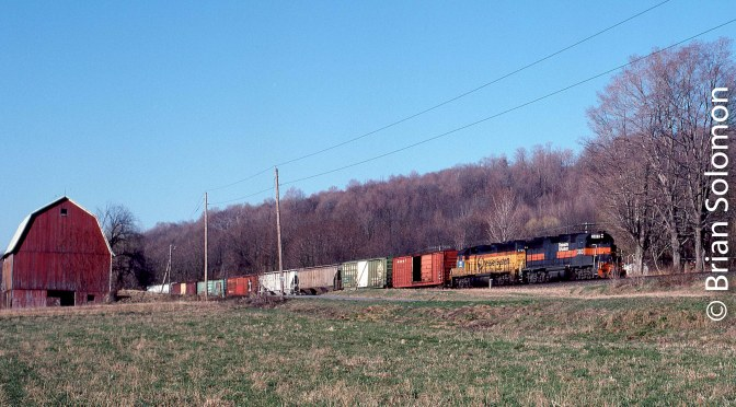 Thirty Years Ago on Conrail's former Erie—There's more here than meets the Eye.