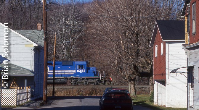 Helpers at Lilly: Conrail November 1998.