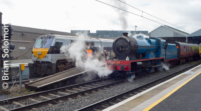 RPSI The Midlander—excursions from Dublin to Maynooth 18 March 2019.