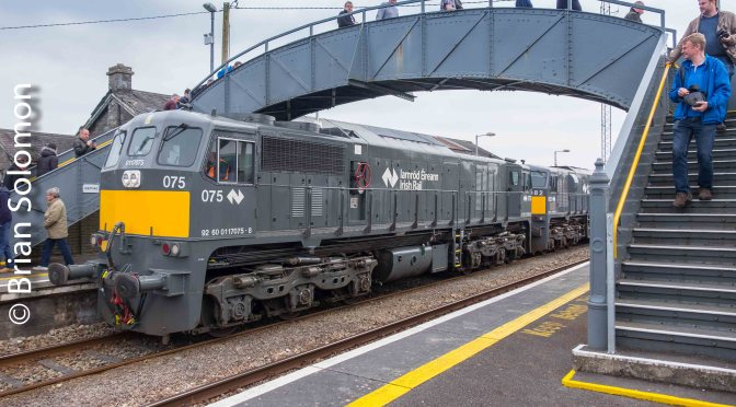 Irish Rail Class 071 on Parade.