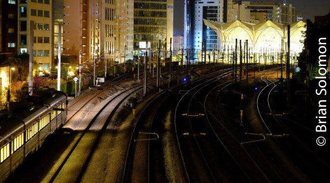Lisbon Oriente at Night.