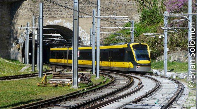 Porto Metro at Trindade.