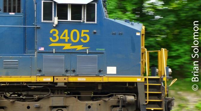 CSX Q263 at Palmer, Massachusetts.