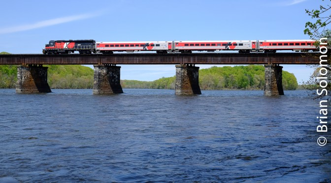 CT Rail Spring—Connecticut River Crossing.