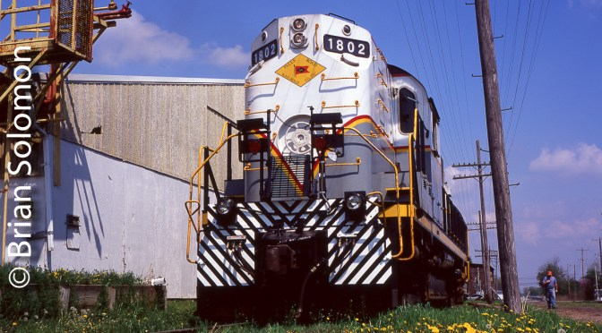 May 10, 2007 was the Big Day for the Railroad Never Sleeps