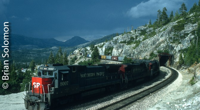 Dark Sky Over Donner Pass—150th Anniversary of America's 1st Transcon.