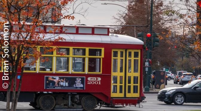 New Orleans Streetcar—December 2018.
