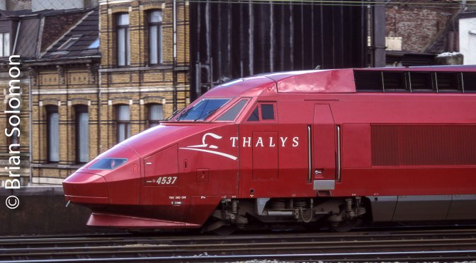 Thalys at Antwerp.