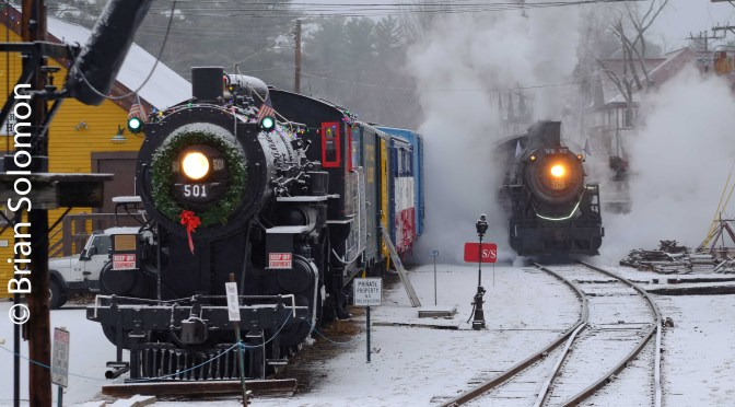Two Steam Locomotives!