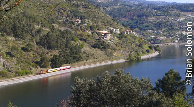English Electric in the Douro Valley One Year Ago.